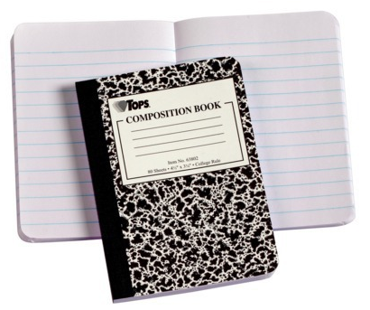 composition notebook old school composition book fictive universe