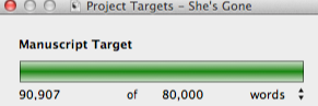 Word count for novel