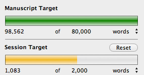 Daily Word Count for Writing Goals