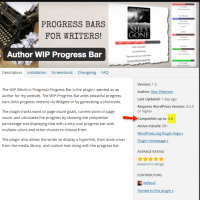 WordPress 4.4. Plugin Compatibility Info