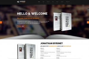 WordPress Theme for Authors