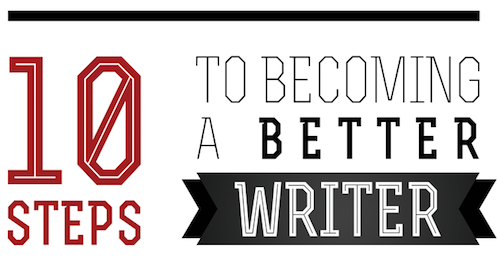 10 Steps To Become A Better Writer
