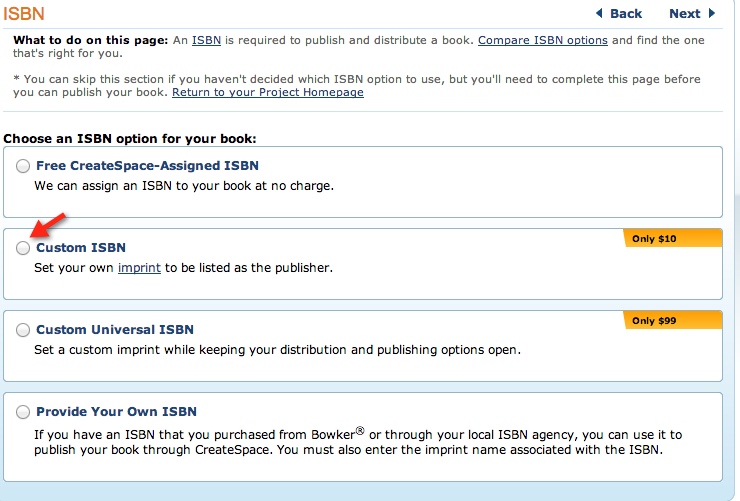 How to self publish with CreateSpace