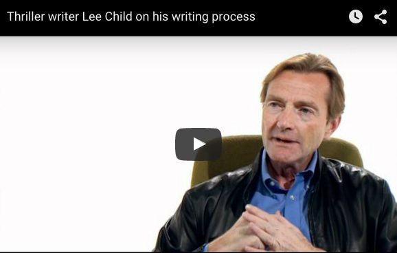 Lee Child Advice for Writers: Ignore All Advice