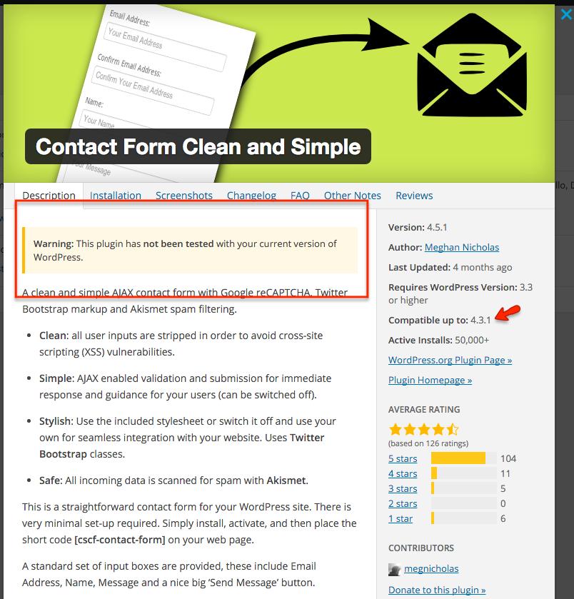 WordPress 4.4 Plugin