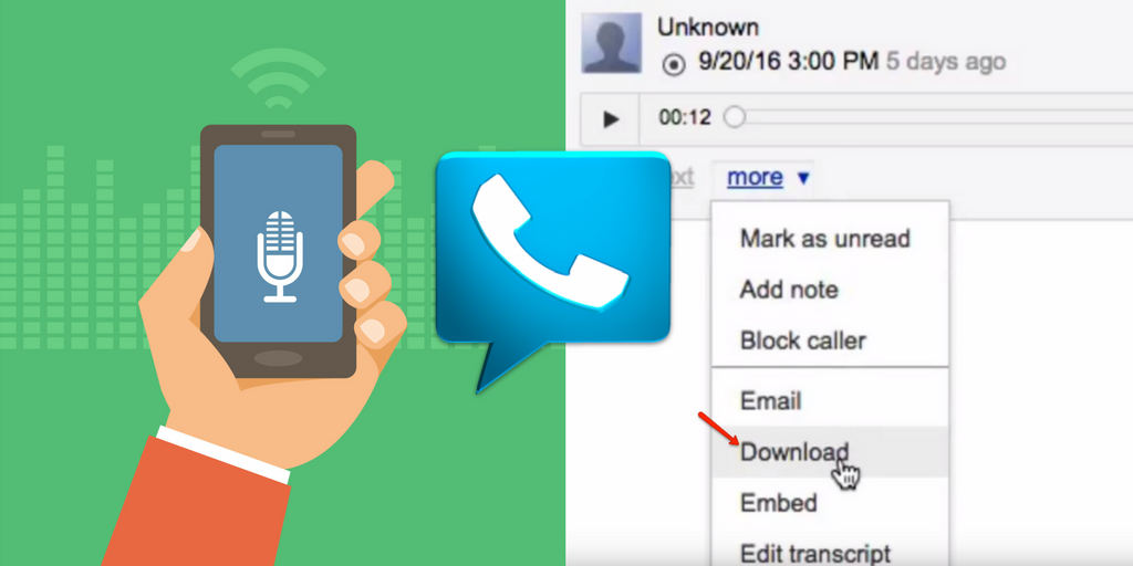 Google Voice Call Recording