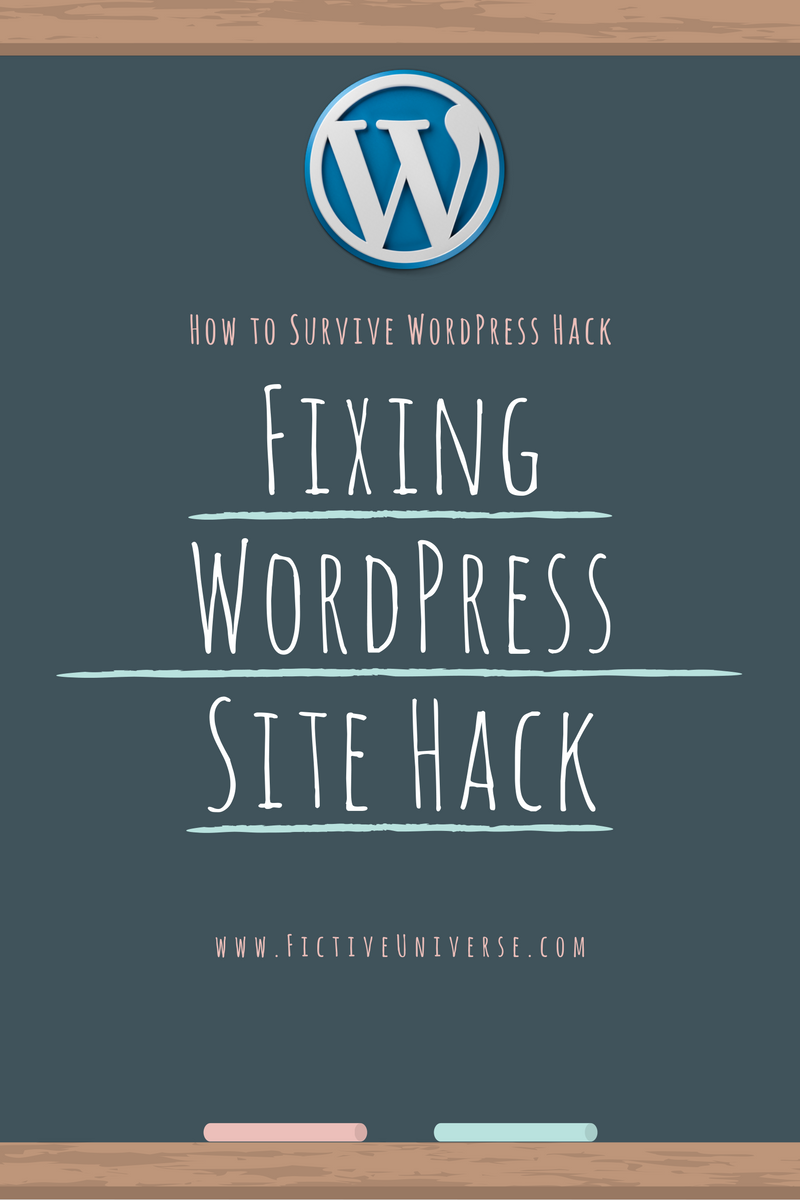 Fixing My WordPress Hacked Site