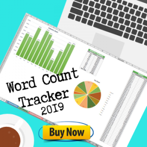 2019 Word Count Tracking Spreadsheet