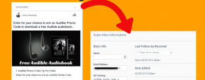 Ad Tracking for Facebook Ads with Aweber