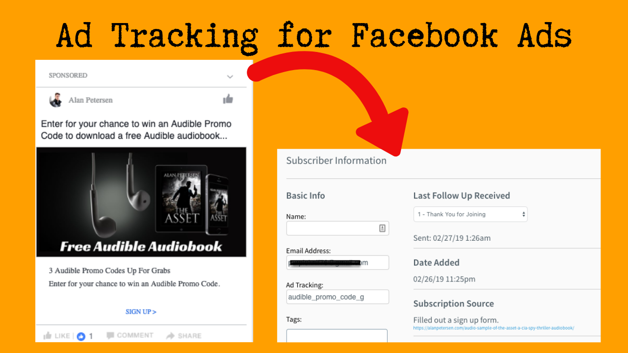 Ad tracking for Facebook ads